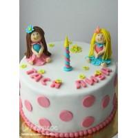 Торт для двойняшек №10