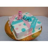 Торт для двойняшек №11