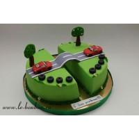 Торт для двойняшек №12
