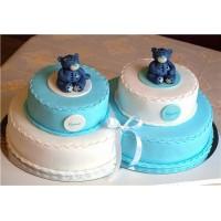 Торт для двойняшек №2