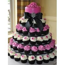 Торт с капкейками №1