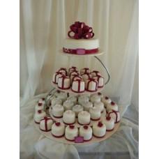 Торт с капкейками №12