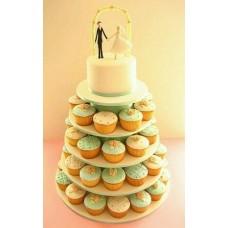 Торт с капкейками №13