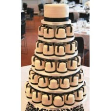 Торт с капкейками №14