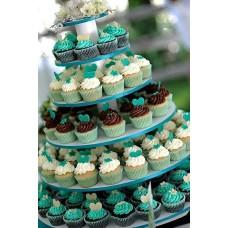 Торт с капкейками №2