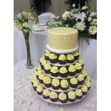 Торт с капкейками №3
