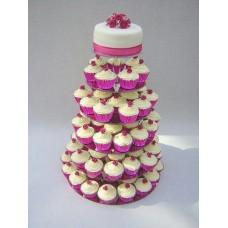 Торт с капкейками №4