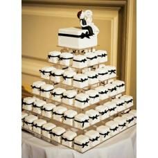 Торт с капкейками №5