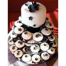 Торт с капкейками №7