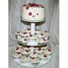 Торт с капкейками №8