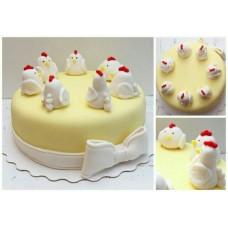 Новогодние торты ПЕРУХ