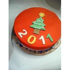 Новогодние торты №11